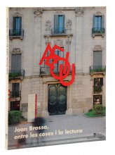 Imatge de la coberta del llibre Joan Brossa, entre les coses i la lectura