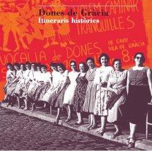 Imatges de la coberta del llibre 'Dones de Gràcia'