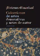 Coberta del llibre ¡Extraordinarias! Colecciones de artes decorativas y artes de autor