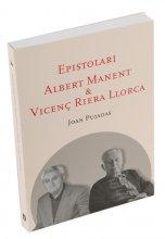 Imatge de la coberta del llibre 'Epistolari Albert Manent & Vicenç Riera Llorca