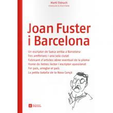 Imatge de coberta del llibre Joan Fuster i Barcelona
