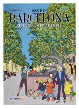 Imatge de la coberta del llibre 'Los seis en Barcelona. Secretos en el Eixample'