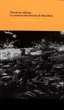 Coberta del llibre Narratives urbanes. La construcció literària de Barcelona