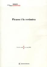Coberta del llibre Picasso i la ceràmica