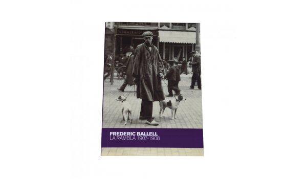 Coberta 'Frederic Ballell. La Rambla 1907-1908'