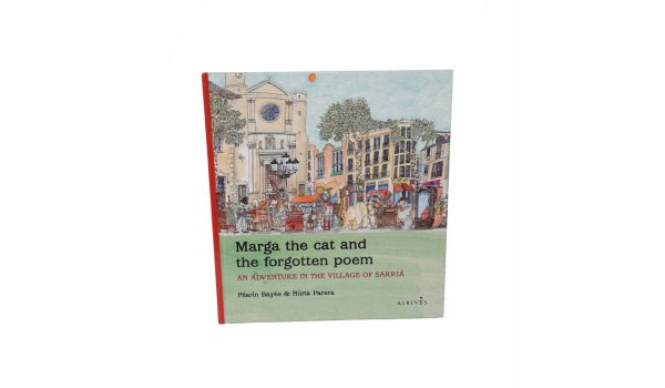 Coberta Marga the cat and the forgotten poem