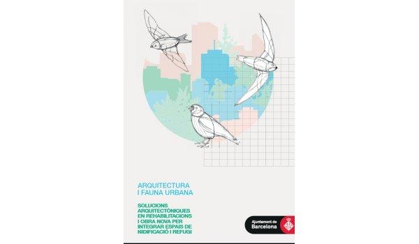 Imatge de la coberta del llibre 'Arquitectura i fauna urbana'