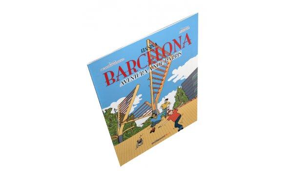 Imatge de la coberta del llibre 'Els sis a Barcelona. Aventura a Nou Barris'
