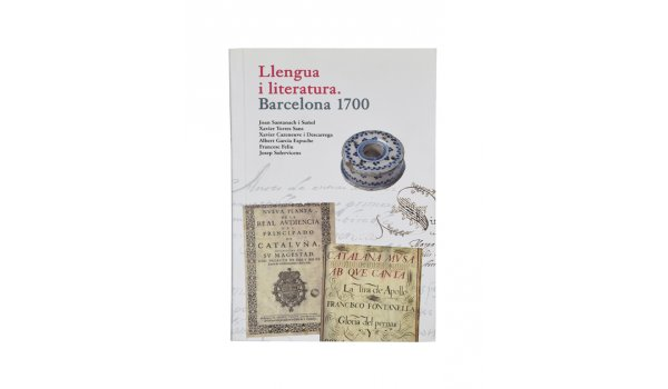 Coberta 'Llengua i literatura. Barcelona 1700'