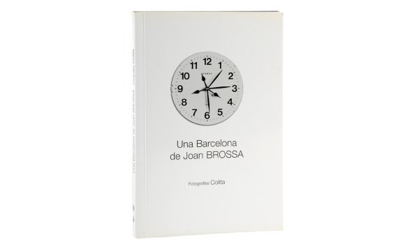 Imatge de la coberta del llibre Una Barcelona de Joan Brossa