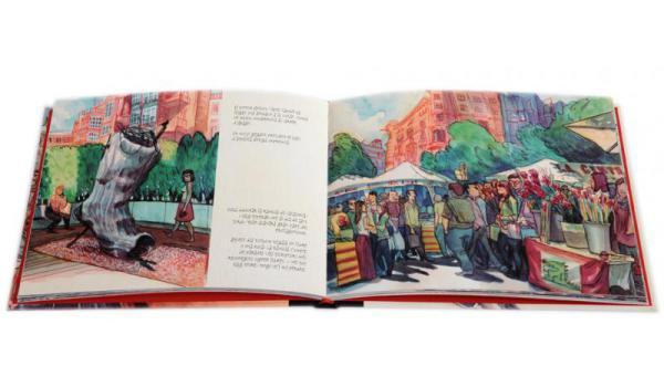 Imatge pàgines interiors llibre 'Barcelona. Carnet de viatge'