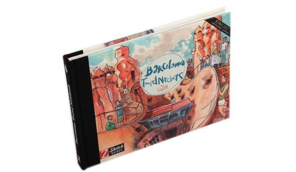 Imatge de la coberta del llibre Barcelona Travel Notebook