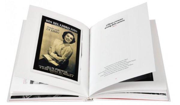 Imatge de les pàgines interiors del llibre 'Barcelona, ciutat de llibres'