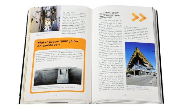Imatge de les pàgines interiors del llibre 'La Barcelona jueva'