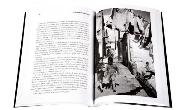 Imatge de les pagines interiors del llibre 'En mi barrio no había chivatos'