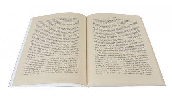 Imatge de les pàgines interiors del llibre 'Barcelona cosmopolita'