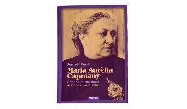 Imatge de la coberta del llibre 'Maria Aurèlia Capmany'