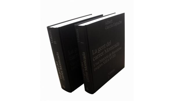 Imatge de la coberta del llibre 'La gent del carrer Montcada'