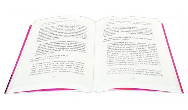 Imatge de les pàgines interiors del llibre 'Estoy hablando de mi generación'