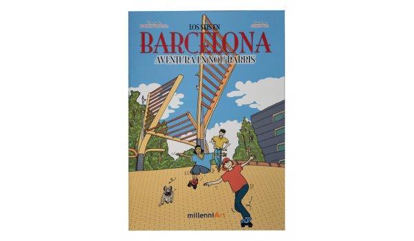 Imatge de la coberta del llibre 'Los seis en Barcelona. Aventura en Nou Barris'
