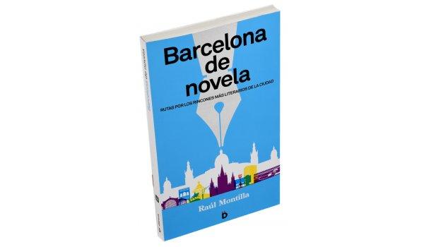 Imatge de la coberta del llibre 'Barcelona de novela'