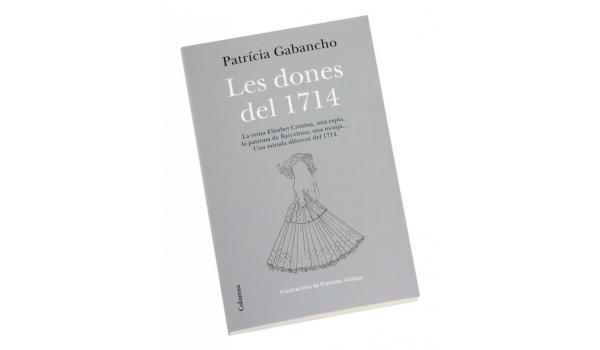Coberta del llibre 'Les dones del 1714'