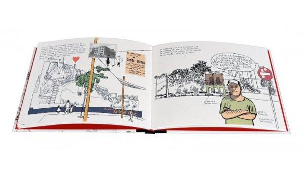 Imatge de les pàgines interiors del llibre 'El corazón de Barcelona. La Salut, el Coll y Vallcarca'