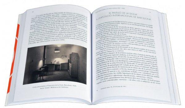 Imatges de les pàgines interiors del llibre 'Cuines de Barcelona'