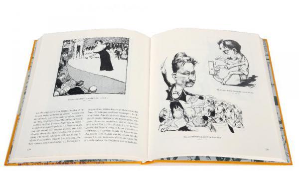 Pàgines interiors del llibre 'Barcelona vista pels seus dibuixants 1888-1929'
