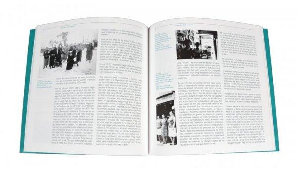 Imatge de les pàgines interiors del llibre 'Dones de Nou Barris'