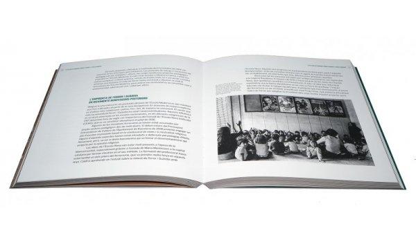 Imatge de les pàgines interiors del llibre 'Per una educació en llibertat. Barcelona i l'escola. 1908-1979'