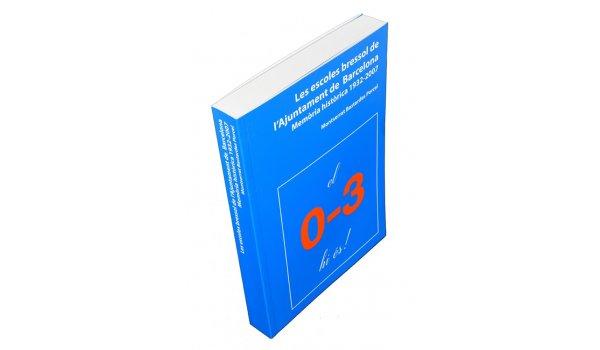 Imatge de la coberta del llibre 'Les escoles bressol de l'Ajuntament de Barcelona'