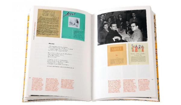 Imatge de les pàgines interiors del llibre 'Espriu i Barcelona'