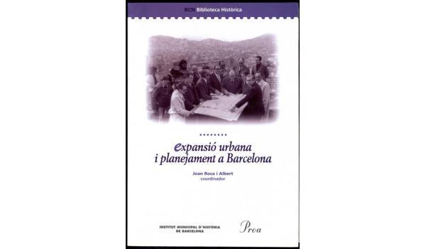Coberta del llibre Expansió urbana i planejament de Barcelona
