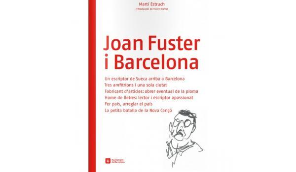 Imagen de cubierta del libro Joan Fuster i Barcelona