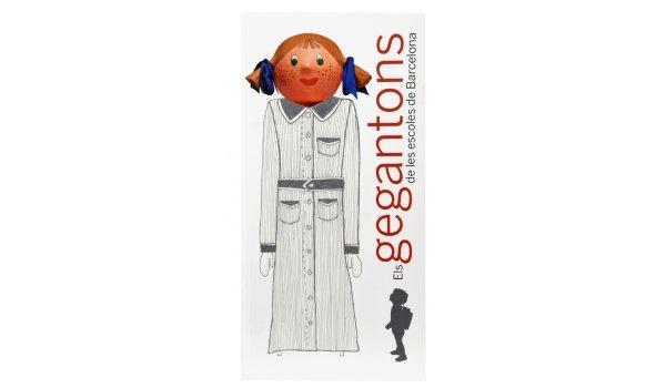Imatge de la coberta del llibre 'Els gegantons de les escoles de Barcelona'