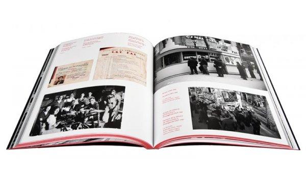 Imatge de les pàgines interiors  del llibre 'Gràfica Anarquista. Fotografia i revolució social. 1936-1939'