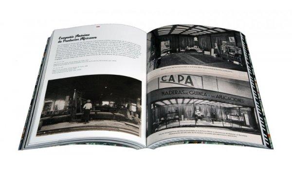 Imatge de les pàgines interiors del llibre 'Ikunde. Barcelona, metròpoli colonial'