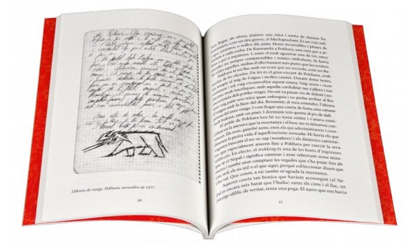 Imatge de les pàgines interiors del llibre 'Hem d'anar a l'Índia'