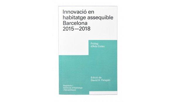 Imatge de la coberta del llibre 'Innovació en habitatge assequible'