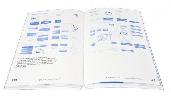 Imatge de les pàgines interiors del llibre 'Innovació en habitatge assequible'