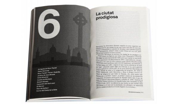 Imatge de les pàgines interiors del llibre 'Barcelona de novel·la'