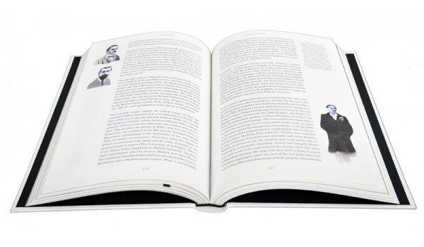 Imatge de les pàgines interiors del llibre 'Barcelonas. English Edition'