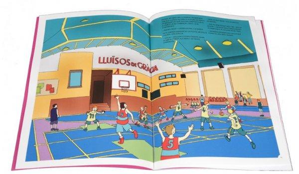 Imatge de les pàgines interiors del llibre 'Els sis a Barcelona. Els fantasmes de Gràcia'