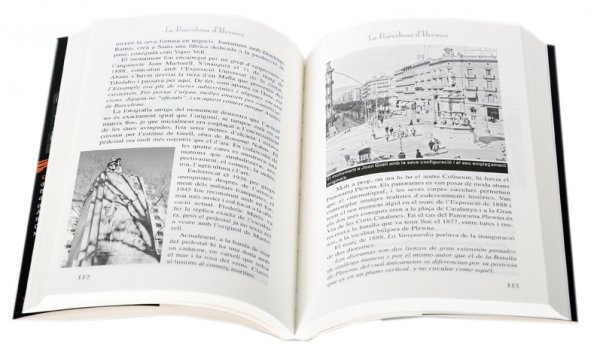 Imatge pàgines interiors del llibre 'La Barcelona d'Hermes'