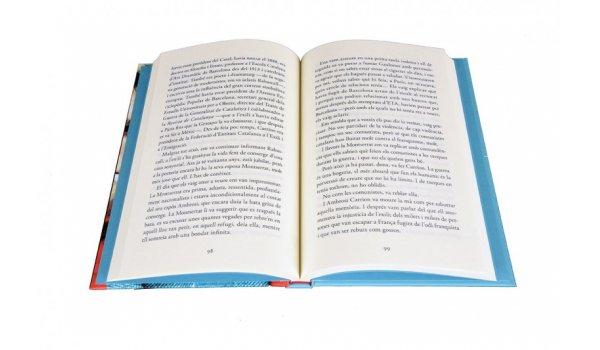 Imatge de les pàgines interiors del llibre 'Els ulls dels homes mentiders'