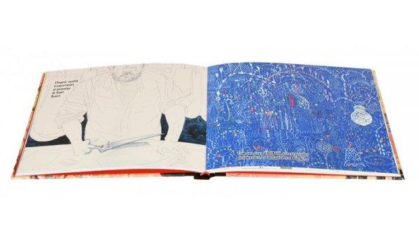 Imatge de les pàgines interiors del llibre 'Sant Pere i Santa Caterina. El meu barri'