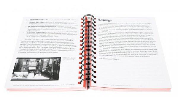 Imatge de les pàgines interiors del llibre 'I Simposio Internacional de Arqueología de el Born CCM'