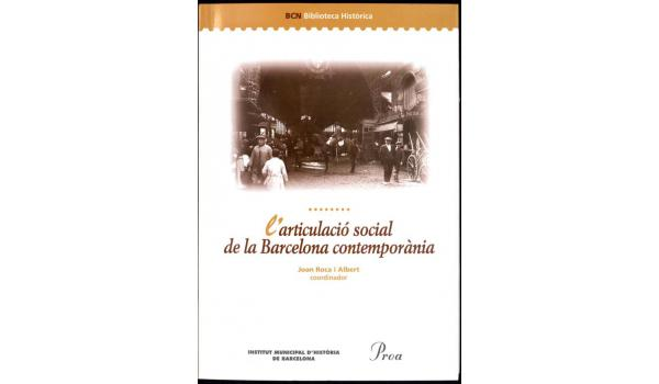 Coberta del llibre L'articulació social de la Barcelona contemporània
