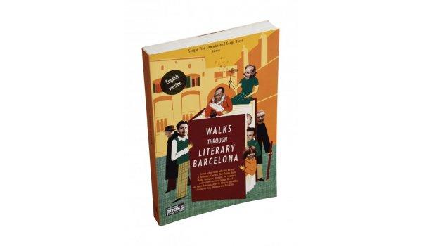 Imatge de la coberta del llibre 'Walks Through Literary Barcelona'